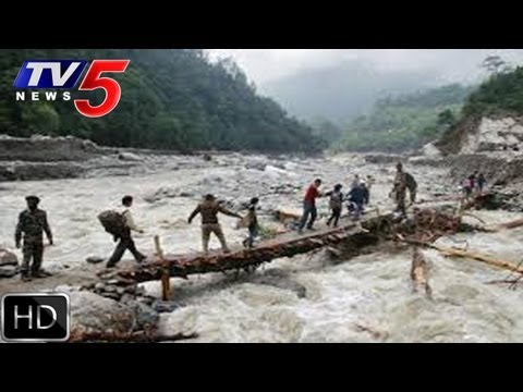 Uttarakhand Floods Indian Army Protected Uttarakhand  - Tv5 video