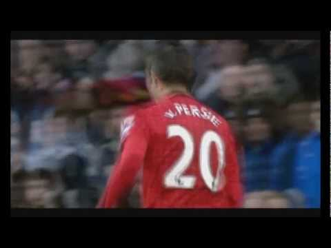 Robin Van Persie World class player Goals+Skills (English commentary)