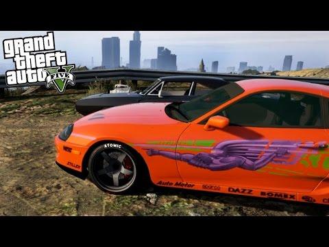 FAST & FURIOUS GTA 5 MOD