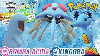 ¡USANDO esta ESTRATEGIA para la RAINBOW CUP!-Pokémon Go PvP