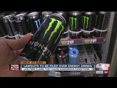 Lawsuits to be filed over energy drinks