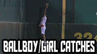 MLB: Ball-Boy/Girl Catches (HD)