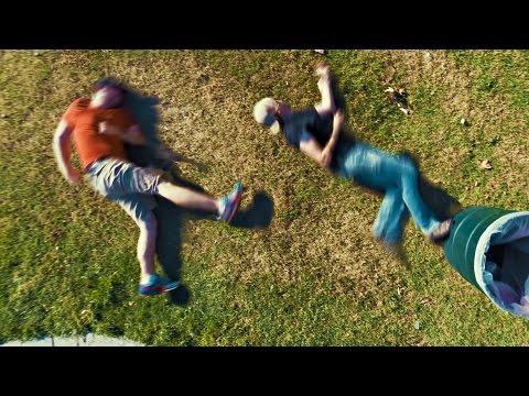 pelea en 2d en parque