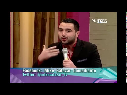 Mike Salazar, Comediante, con Mujeres en TVC