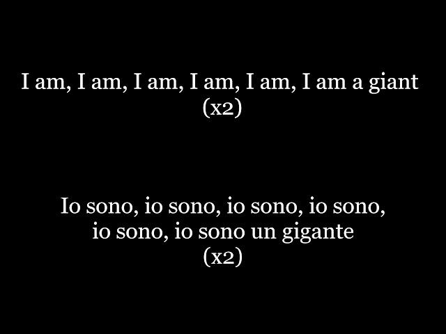 Giant - Calvin Harris, Rag39n39Bone Man testo amp traduzione