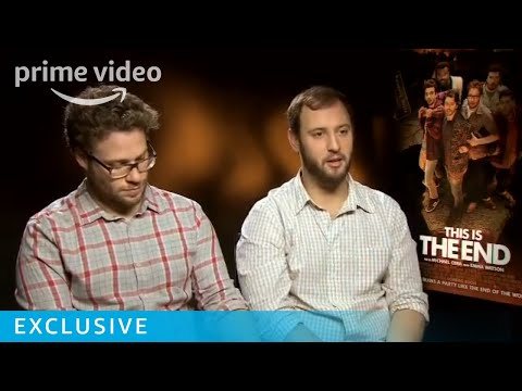 This Is The End - Seth Rogen & Evan Goldberg Interview | Prime Video