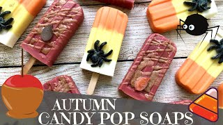 Making Autumn Candy Inspired Popsicle Soaps | 🕷 GYPSYFAE CREATIONS