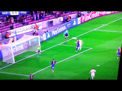 Barcellona-Psg 1-1 Highlights & Goals Champions
