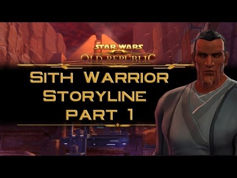 SWTOR Sith Warrior Storyline part 1: The Sith trials on Korriban