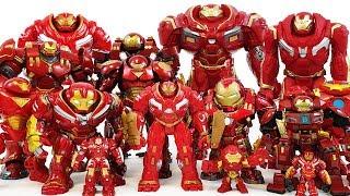 Here Comes Hulkbuster! Defeat Thanos & Villains! Avengers Go~! Hulk, Iron Man, Spider-Man