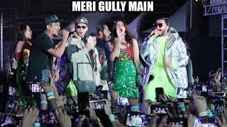 Live Ranveer Singh Meri Gully Main Song With Divine Naezy Gully Boys Promotions