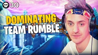 Ninja & Reverse2k DOMINATE Team Rumble!