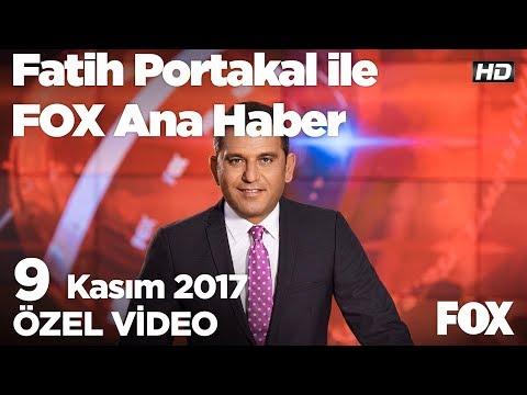 Cumhurbaşkanı'ndan cam filmi talimati...9 Kasım 2017 Fatih Portakal ile FOX Ana Haber