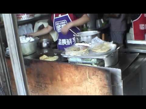 Taiwan Food: BEST dan bing and luo bo gao in Taichung