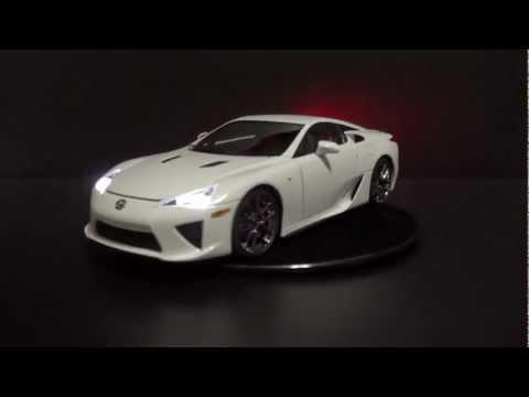 Reventon  Lights on 18 Autoart Lexus Lfa Led Tuning Tags