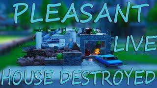 NEW Pleasant Park modern house DESTROYED - Fortnite Event Updates - Fortnite battle Royale