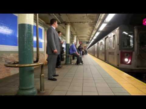 NEW YORKERS MUST WATCH!!! DANGERS OF RIDING THE TRAIN