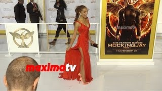 Meta Golding | The Hunger Games MOCKINGJAY PART 1 Los Angeles Premiere