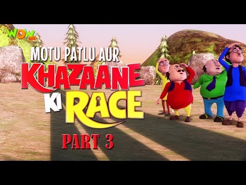 Motu Patlu Aur Khazzane Ki Race - Part 03 Movie| Movie Mania - 1 Movie Everyday | Wowkidz thumbnail
