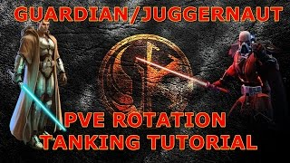 SWTOR: Guardian/Juggernaut 4.0 PVE ROTATION TUTORIAL!