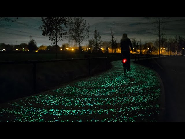 Tomorrow Daily 086: Bio-drones, PlayStation Vue, a 'Starry Night' bike path, and more