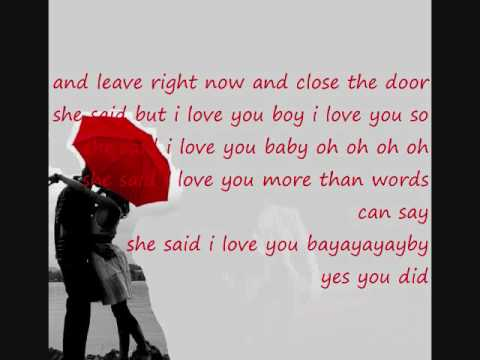 Plan B - She Said I Love You Boy