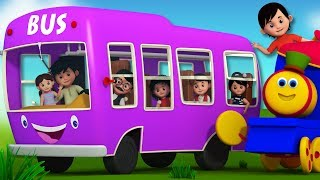 The Wheels On The Bus | Bob The Train Songs For Children by Kids Tv