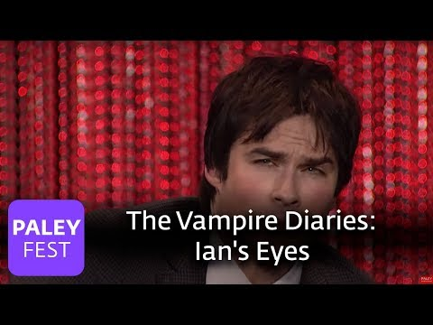 The Vampire Diaries - Ian Somerhalder, Paul Wesley, Nina Dobrev on Ian's Eyes and Potential Endings