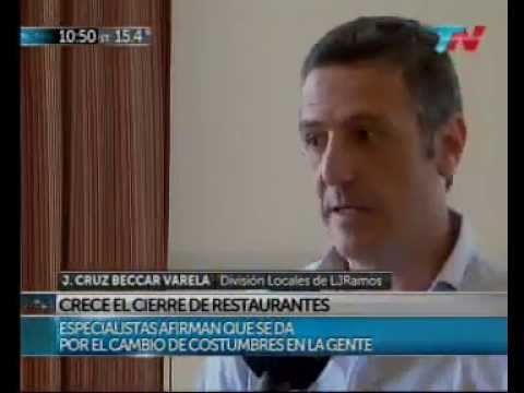 Sobre el cierre de restaurantes | Juan Cruz Beccar Varela en TN.