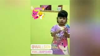 Kk Nez ikut Walls Baby Shark Challenge