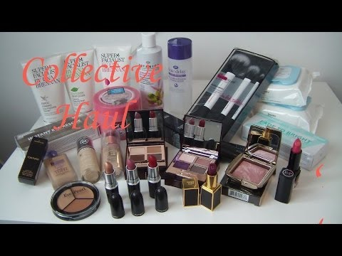 Collective Beauty Haul Feb/March 2014 - Tom Ford, Hourglass, Charlotte Tilbury, Suqqu, Drugstore etc
