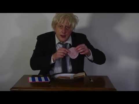 Boris Johnson makes David Cameron Out of Ham Sandwich
