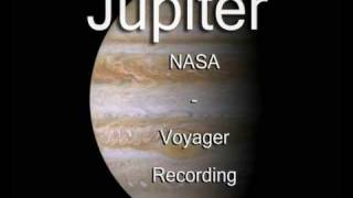 Jupiter - NASA - Voyager - Recording (The Best Video)