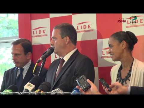 Lide | Entrevista Marina Silva e Eduardo Campos
