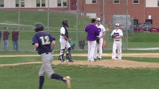 Newburgh Goldbacks vs Monroe-Woodbury Crusaders Baseball Game #2 April 2018