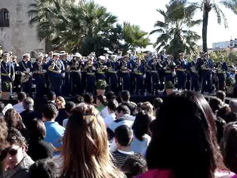 SANTA CECILIA 2008 rosario de cadiz marcha (gitano tu eres de santa maria).
