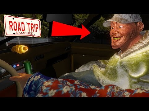 The Road Trip - PICKING UP CRAZY HITCHHIKER