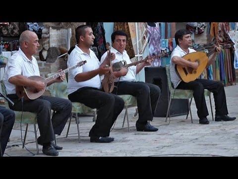 Traditional Uzbek music in Bukhara, Uzbekistan