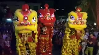 Múa Lân Trung Thu 2016|Tết Trung Thu Rước Đèn Đi Chơi Lễ Hội Việt Nam||Vui đêm trăng rằm.