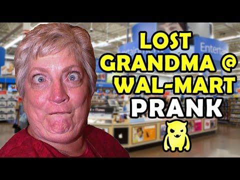 Lost Grandma at Wal-Mart Prank (subtitled) – Ownage Pranks