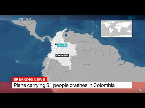 Colombian Plane Crash: Plane carrying 81 people crashes in Colombia