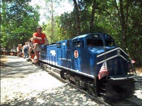 Central Pasco & Gulf Railroad Model Trains You Can Ride On - Central Pasco & Gulf Railroad Model Trains You Can Ride On - YouTube
