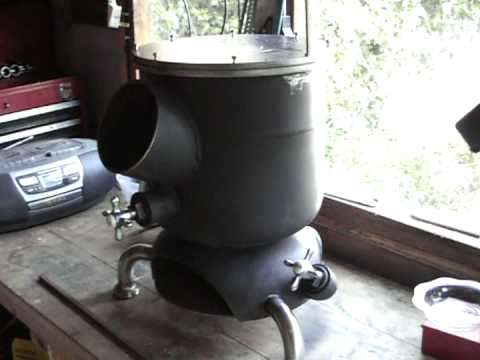 How to make a wood burning stove DIY project