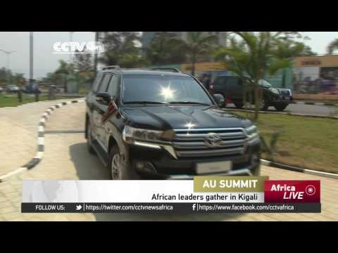 African heads gather in Kigali for AU Summit