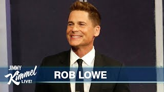 Rob Lowe on Friendship with Arnold Schwarzenegger