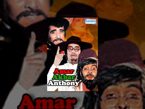 Amar Akbar Anthony (1977) - Bollywood Movie - Amitabh - Vinod...