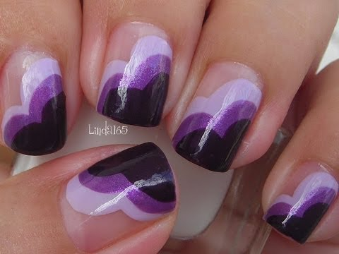 Nail Art - Wear Purple for Lupus