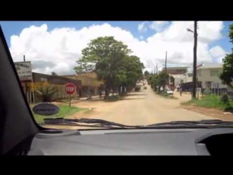 City Tour in One Minute: Mbabane, Swaziland