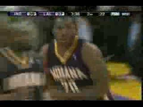 Kobe Bryant drops Fred Jones Video