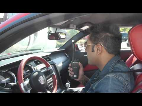 Mirza - The Untold Story: Gippy Grewal Red Mustang Shots